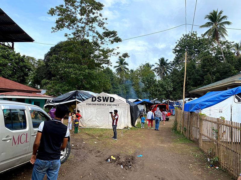 避難キャンプ
